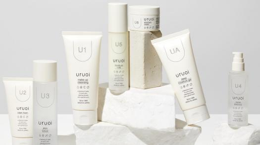 Uruoi is a Japanese skincare brand that highlights the need for hydrated skin